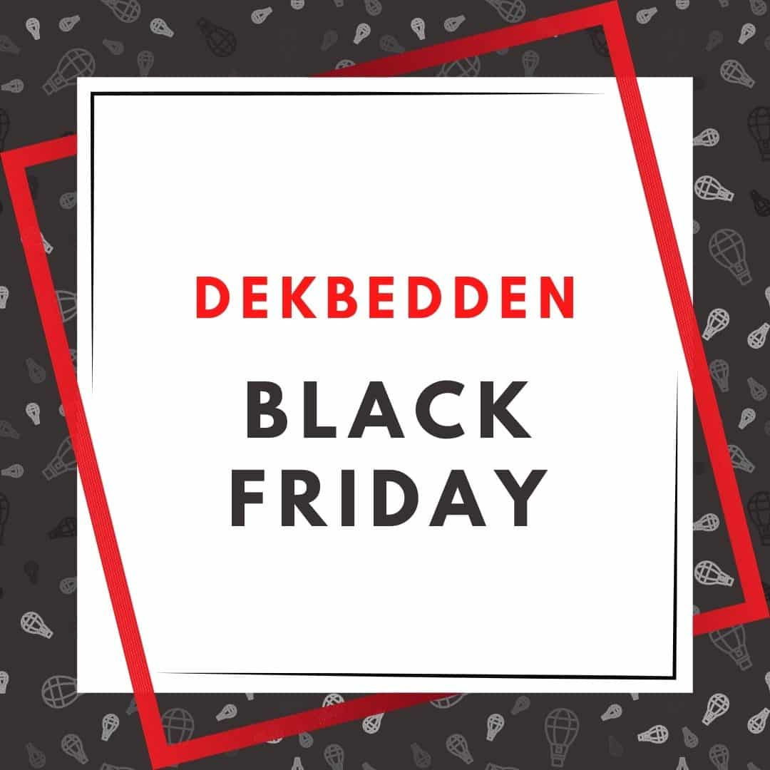 dekbedden black friday